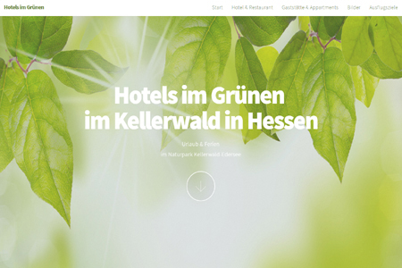Referenz Webdesign Homepage Erstellung